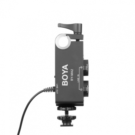 Boya BY-MA2 Dual channel XLR audio mixer