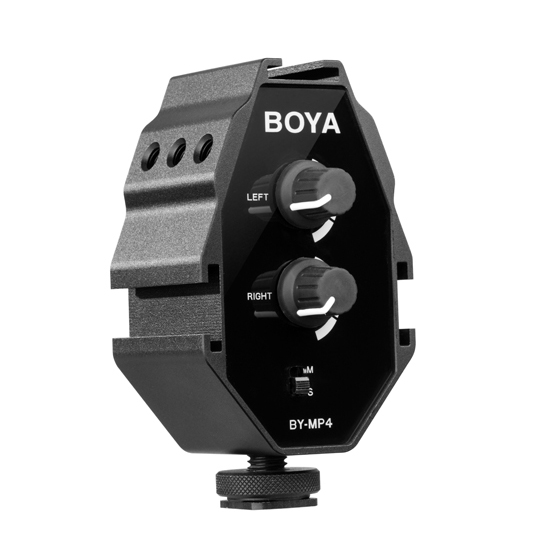 Boya BY-MP4 audio adapter - 1
