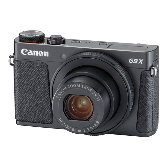 Canon G9 X Mark II - 1