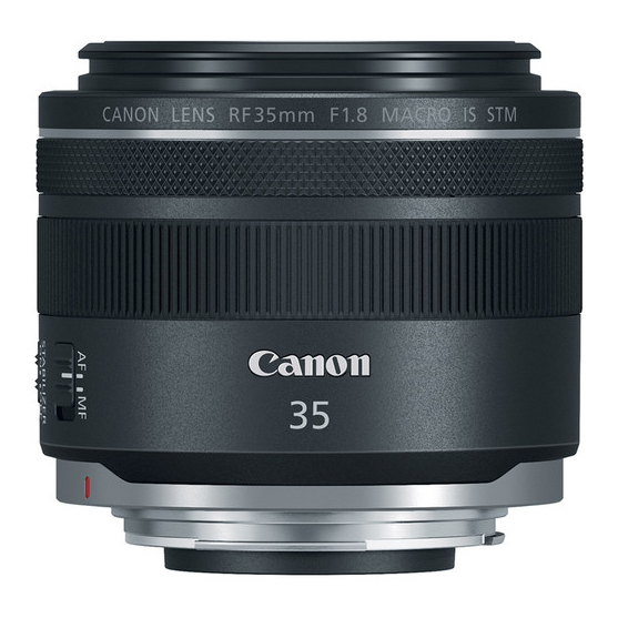 Canon RF 35mm f/1.8 IS Macro STM - 1