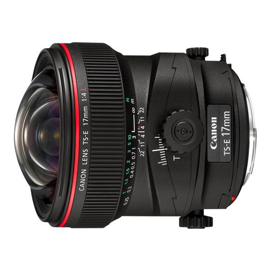 Canon TS-E 17mm f/4L Tilt-Shift - 1