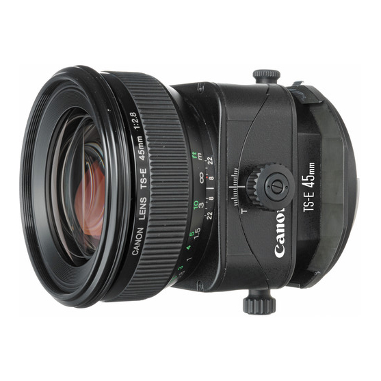 Canon TS-E 45mm f/2.8 Tilt-Shift - 1