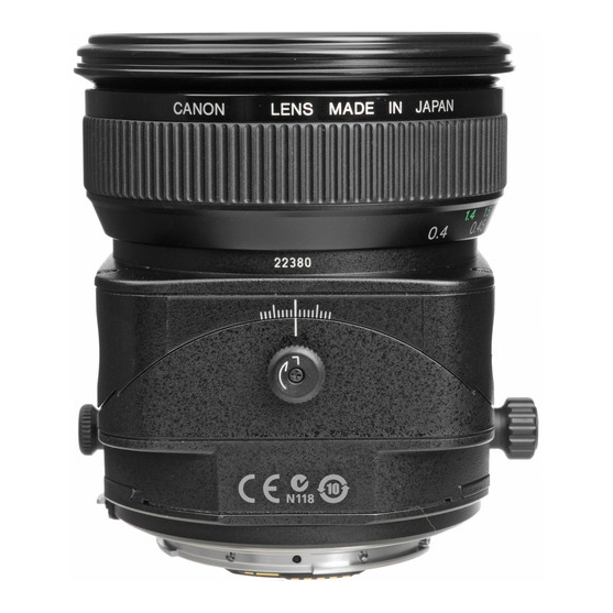 Canon TS-E 45mm f/2.8 Tilt-Shift - 2