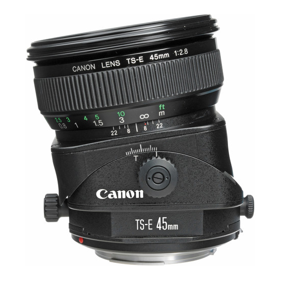 Canon TS-E 45mm f/2.8 Tilt-Shift - 3