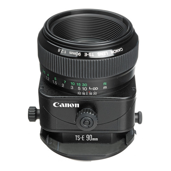 Canon TS-E 90mm f/2.8 Tilt-Shift - 2