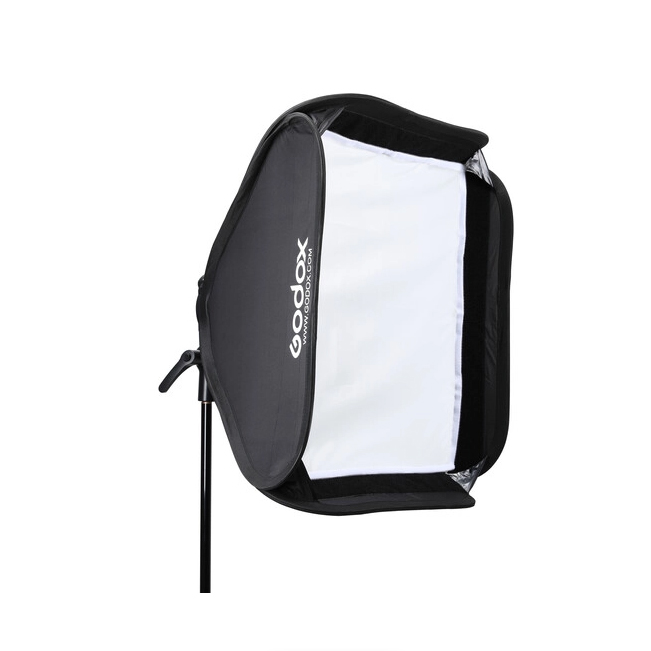 Godox Handy Speedlite Soft Box SGGV6060 S2 type bracket Kit sa gridom (Bowens mount) - 1