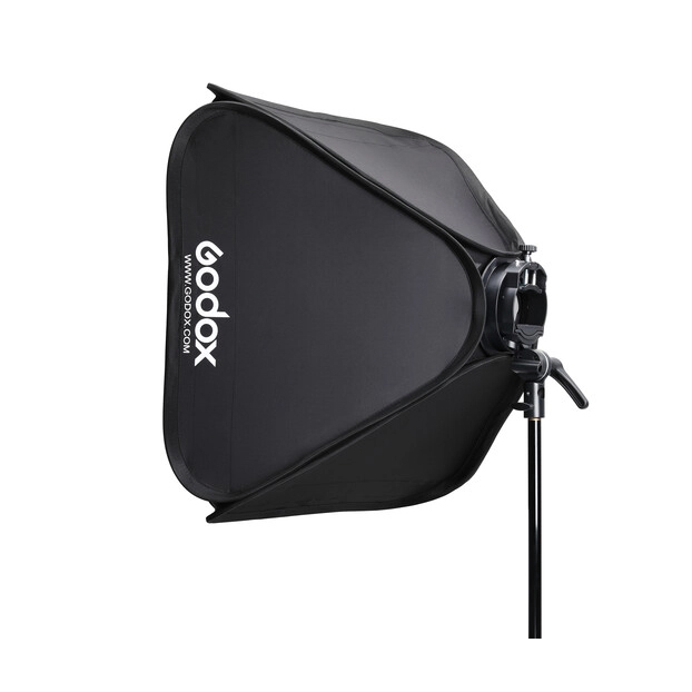 Godox Handy Speedlite Soft Box SGGV6060 S2 type bracket Kit sa gridom (Bowens mount) - 3