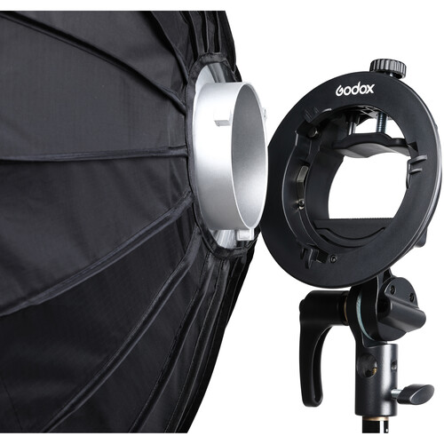 Godox Handy Speedlite Soft Box SGGV6060 S2 type bracket Kit sa gridom (Bowens mount) - 5