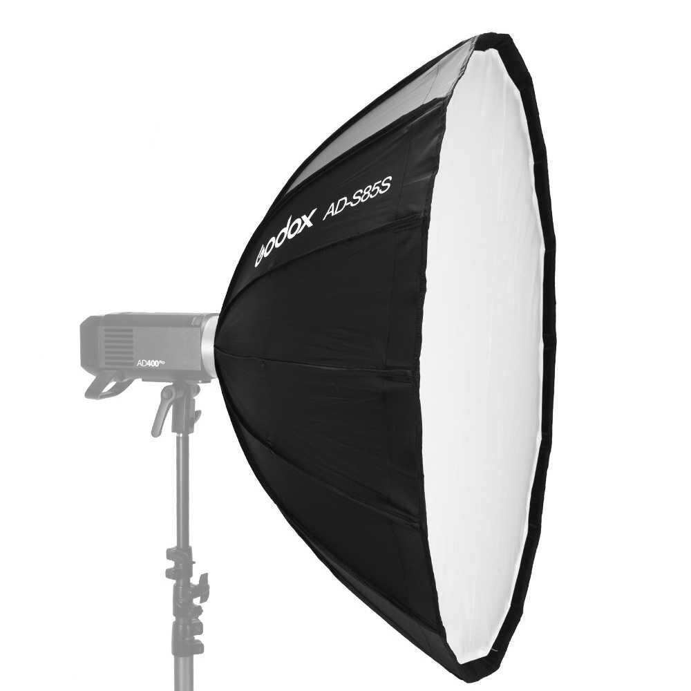 Godox Umbrella Parabolic Softbox 85cm Silver AD-S85S - 1