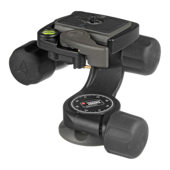 Manfrotto 460MG 3-Way Pan-and-Tilt Head - 1