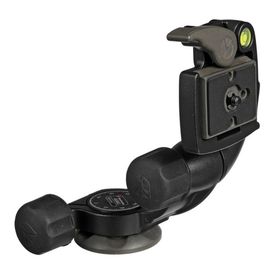 Manfrotto 460MG 3-Way Pan-and-Tilt Head - 2