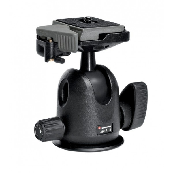 Manfrotto 496RC2 Compact Ball Head W/RC2 - 1