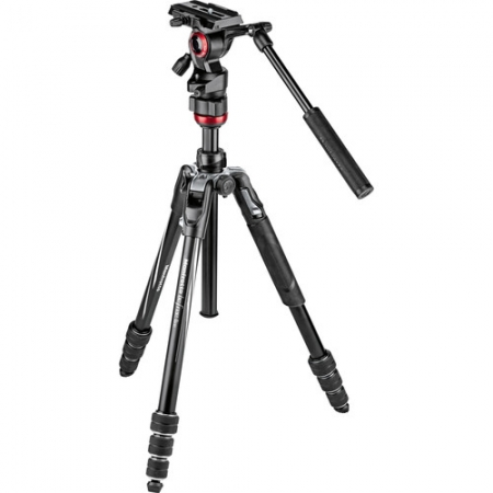 Manfrotto MVKBFRT-LIVE Befree Aluminijum Video stativ