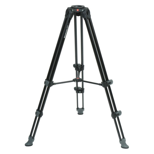 Manfrotto MVT502AM Telescopic Twin Leg Video Tripod - 1