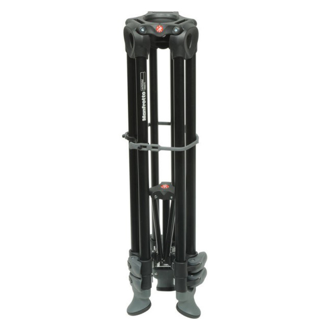 Manfrotto MVT502AM Telescopic Twin Leg Video Tripod - 3