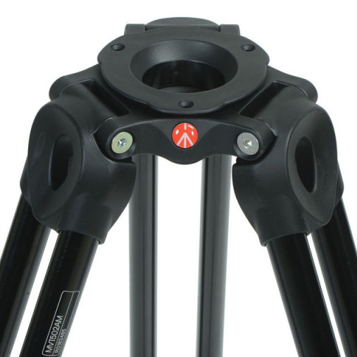 Manfrotto MVT502AM Telescopic Twin Leg Video Tripod - 2