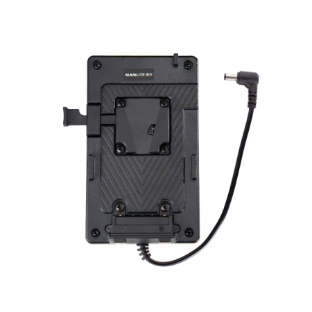 Nanlite BT-BA-V V-mount battery adapter with DC socket