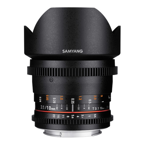 Samyang 10mm T3.1 ED AS NCS CS II VDSLR za m4/3 - 2