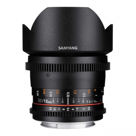 Samyang 10mm T3.1 ED AS NCS CS II VDSLR za m4/3