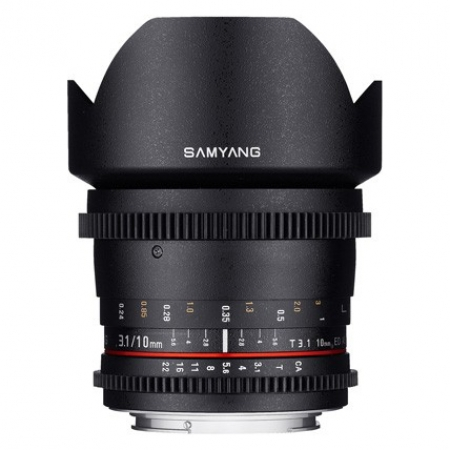 Samyang 10mm T3.1 ED AS NCS CS II VDSLR za Nikon