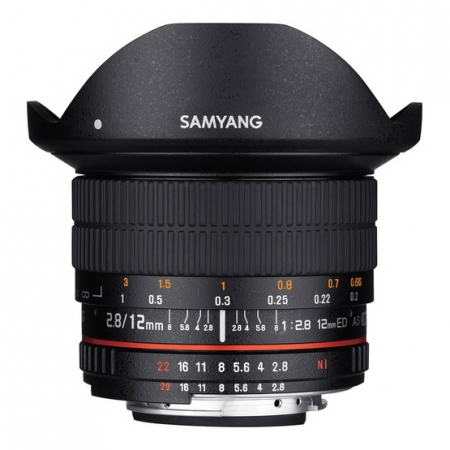 Samyang 12mm f/2.8 ED AS NCS Fisheye za Nikon