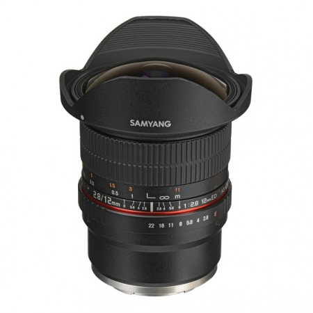 Samyang 12mm f/2.8 ED AS NCS Fisheye za Sony