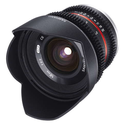 Samyang 12mm T2.2 Cine NCS CS za Sony - 1