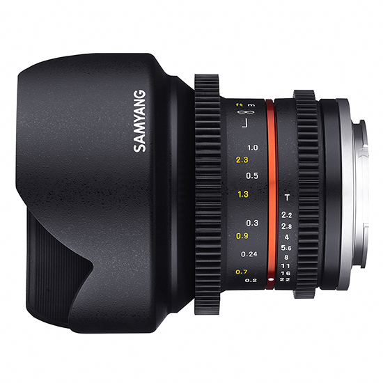 Samyang 12mm T2.2 Cine NCS CS za Sony - 2