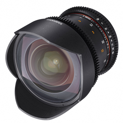 Samyang 14mm T3.1 VDSLR ED AS IF UMC II za Canon - 1