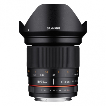 Samyang 20mm 1.8 ED AS UMC za Canon