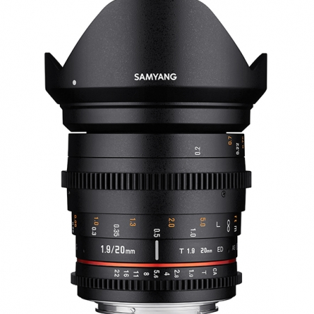 Samyang 20mm T1.9 ED AS UMC Cine za Canon