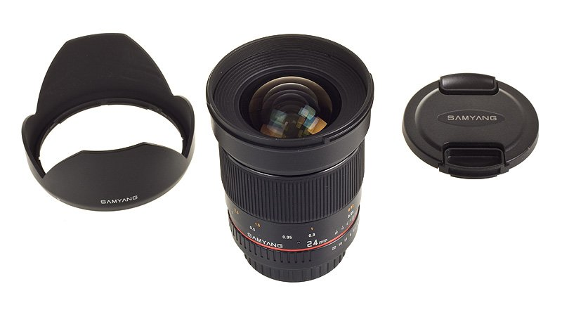 Samyang 24mm 1:1.4 ED AS UMC za Canon - 1