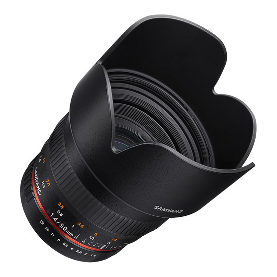 Samyang 50mm f/1.4 AS UMC za Canon - 3