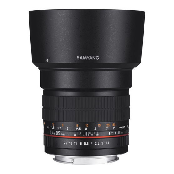 Samyang 85mm f/1.4 AS IF UMC za Nikon - 1