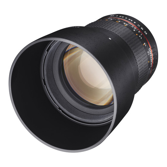 Samyang 85mm f/1.4 AS IF UMC za Nikon - 2