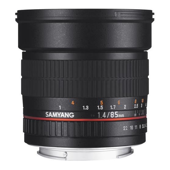 Samyang 85mm f/1.4 AS IF UMC za Nikon - 3