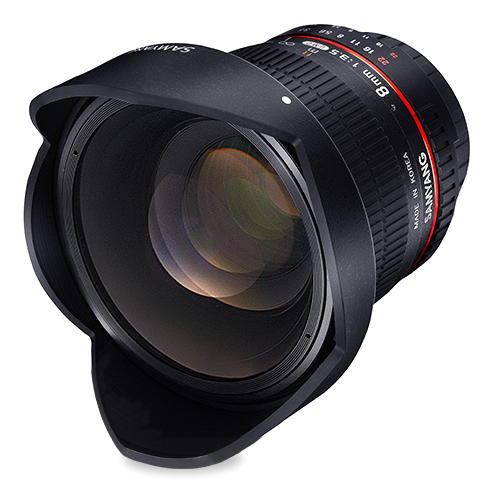 Samyang 8mm f/3.5 UMC Fish-Eye CS II za Canon - 1