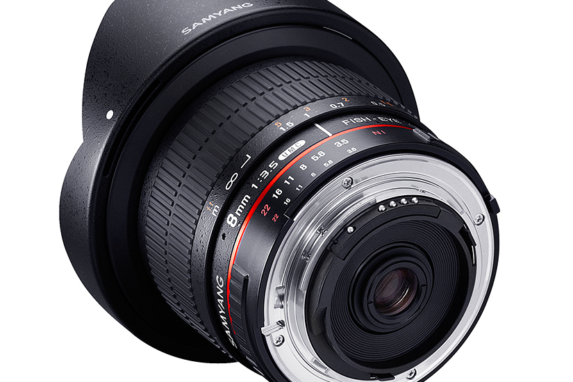 Samyang 8mm f/3.5 UMC Fish-Eye CS II za Canon - 4