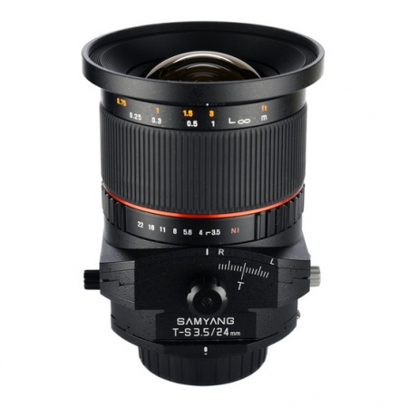 Samyang T-S 24mm f/3.5 ED AS UMC Tilt-Shift za Sony