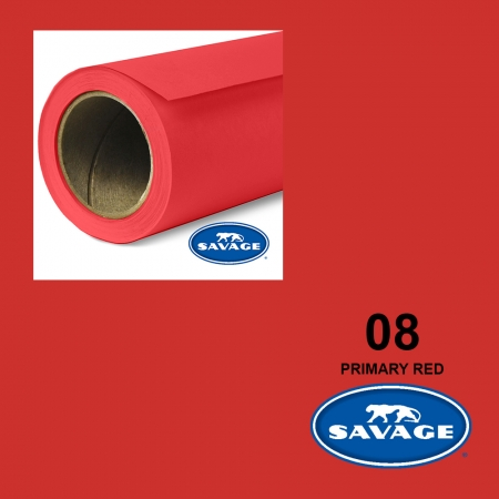 Savage Primary Red 08 2.75x11m Made in USA