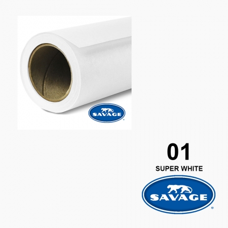 Savage Super White 01 1.35X 11m Made in USA