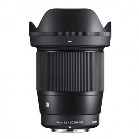 Sigma 16mm f/1.4 DC DN Contemporary za Sony E