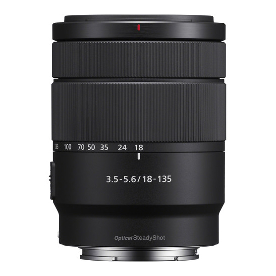 Sony E 18-135mm f/3.5-5.6 OSS - 3