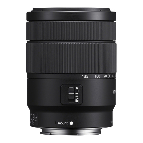 Sony E 18-135mm f/3.5-5.6 OSS - 4