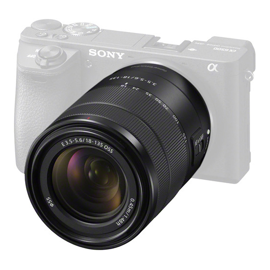 Sony E 18-135mm f/3.5-5.6 OSS - 1