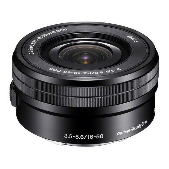 Sony E PZ 16-50mm F3.5-5.6 OSS - 1