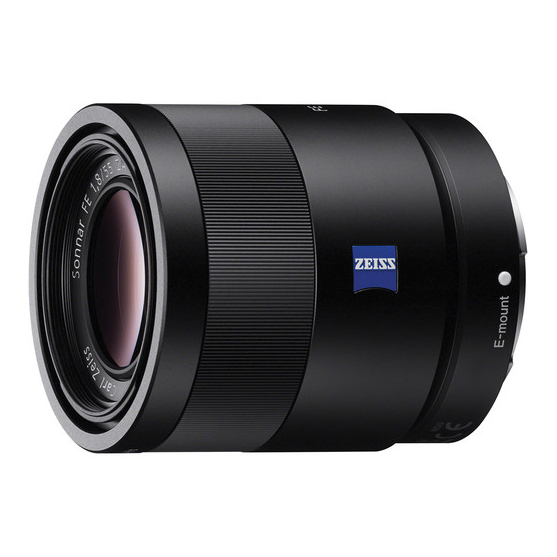 Sony FE 55mm F1.8 ZA Zeiss Sonnar T* - 1