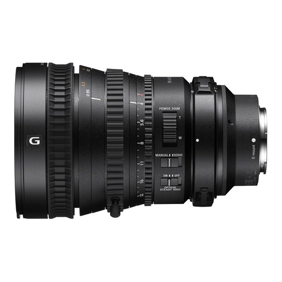 Sony FE PZ 28-135mm f/4 G OSS - 1