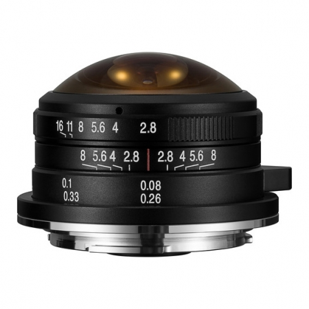 Laowa 4mm f/2.8 Fisheye MFT