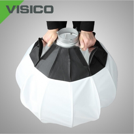 Visico Lantern Fabric spherical diffuser ball FSD-800B